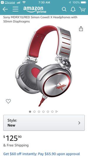 Sony Headphones MDR-X10 for Sale in Las Vegas, NV