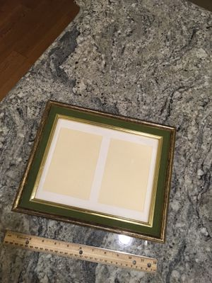 Vintage green velvet with gold frame for Sale in Chino Hills, CA