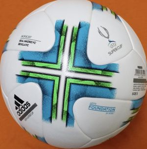 REAL BALL NOT REPLICA OR TRAINING BALL. UEFA SUPERCUP 2017 FIFA APPROVED QUALITY. BRAND NEW for Sale in Annandale, VA