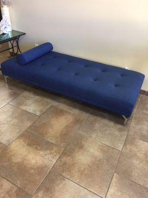 Modern Sofa Daybed, Blue for Sale in Laguna Hills, CA