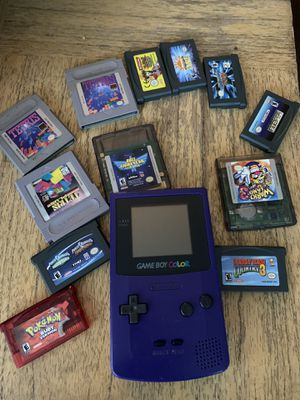 Game Boy Color - Purple for Sale in Kenmore, WA