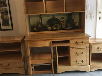Solid Pine Office Furniture for Sale in Weston,  FL