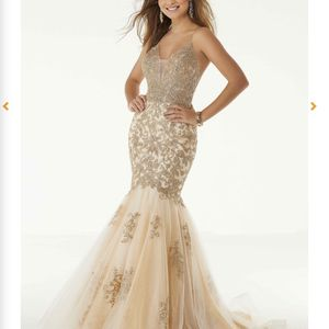 Gorgerous Champagne Gold Mermaid Prom Dress for Sale in Chester, VA