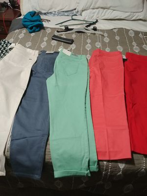 5 new pants size 12 for Sale in Kensington, MD