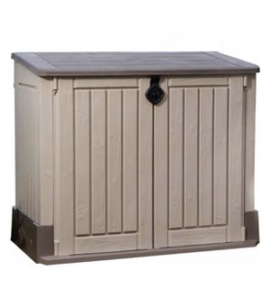 Keter 30 cu. ft Storage Shed, Taupe for Sale in Austin, TX