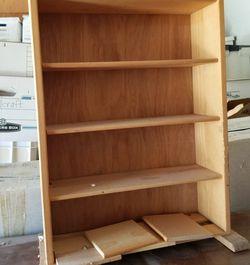 Wood CD/DVD Media Rack (5 shelves plus dividers) for Sale in Boulder,  CO
