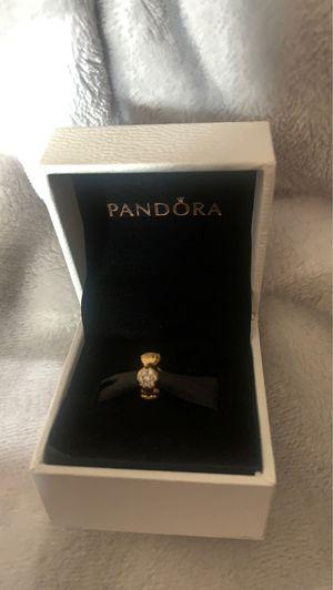 Pandora pave modern love pod spacer charm 18k gold plated for Sale in Nashville, TN