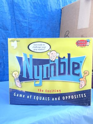 Nymble Board Game 2005-6 for Sale in Azusa, CA