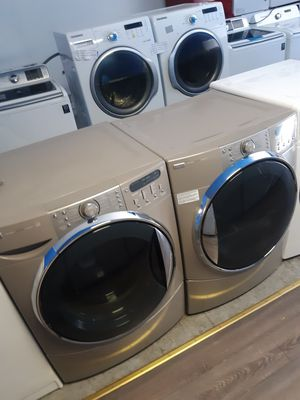 KENMORE FRONT LOAD WASHER AND DRYER STEAM SET WORKING PERFECTLY W/4 MONTHS WARRANTY for Sale in Baltimore, MD
