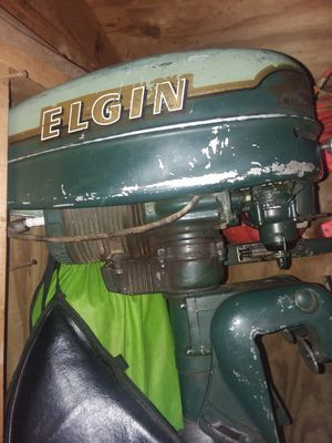 Elgin outboard boat motor for Sale in Glen Carbon, IL
