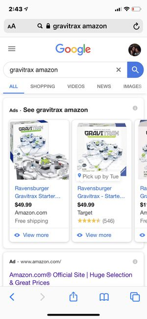Gravitrax new starter set for Sale in Tracy, CA