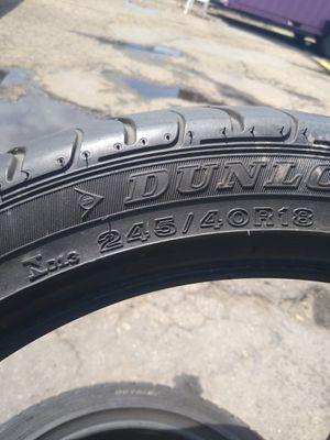 Tires 245 _ 40_18 for Sale in Denver, CO