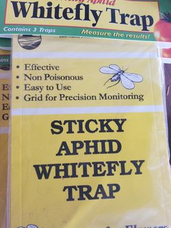 Sticky Aphid Whitefly Trap 3/Pack for Sale in Rialto,  CA