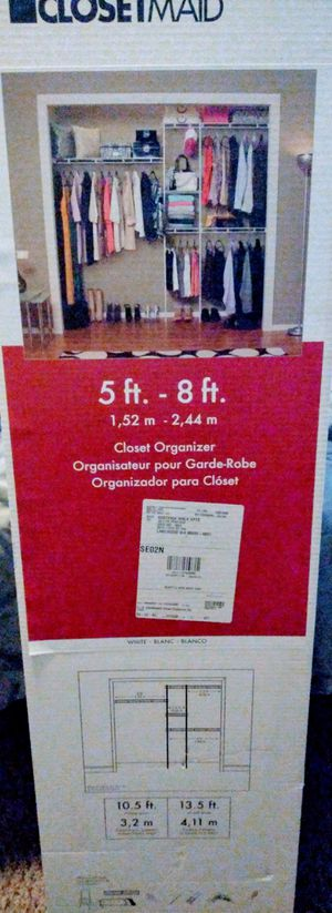 Closetmaid/closet organizer... for Sale in Tacoma, WA