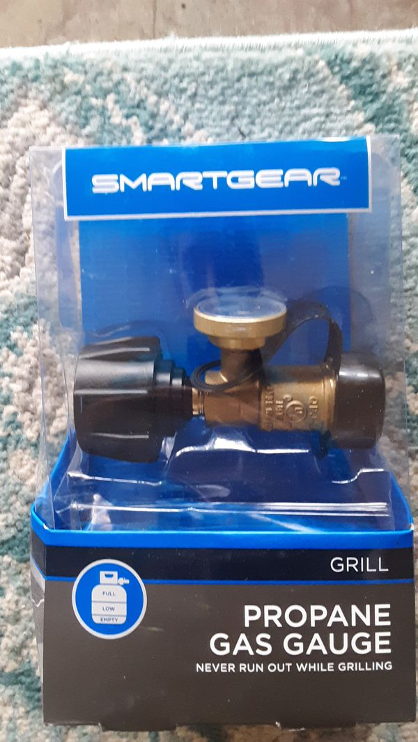Brand new Smart Gear propane gas gauge for a grill or propane tank