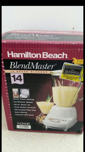 14 speed blender. The price is not negotiable. for Sale in Selma, CA