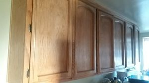 Oak kitchen cabinets for Sale in Beaumont, CA