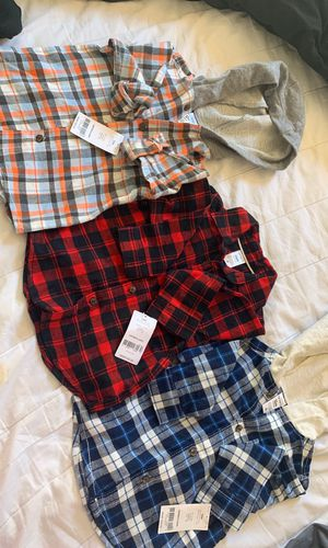 3 Carters Boys Shirts . 12months for Sale in North Potomac, MD