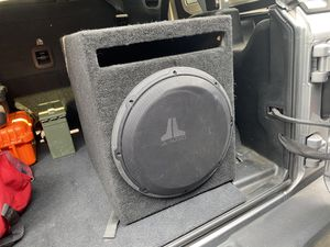 JL audio 12 In box with amp for Sale in Merced, CA