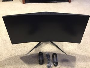 Alienware Curved Monitor for Sale in Federal Way, WA