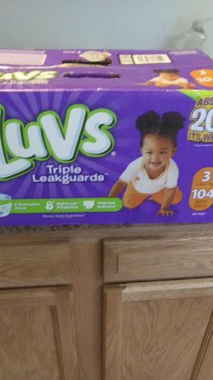 Luvs pampers for Sale in Elmira, NY