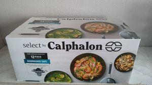 Calphalon 12pc Cookware Set for Sale in Las Vegas, NV