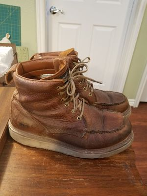 Timberland Work Boots Size 11D GUC Has alot of life left. Bought for $170. Price Firm YES Available for Sale in Hesperia, CA