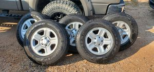 5 Jeep Wheels and tires $250.00 for Sale in North Las Vegas, NV