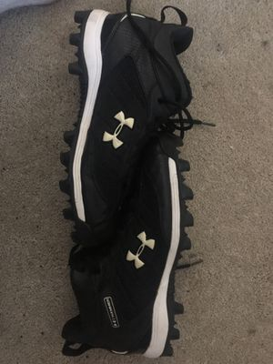 Under armor football cleats, size:8 for Sale in Chantilly, VA