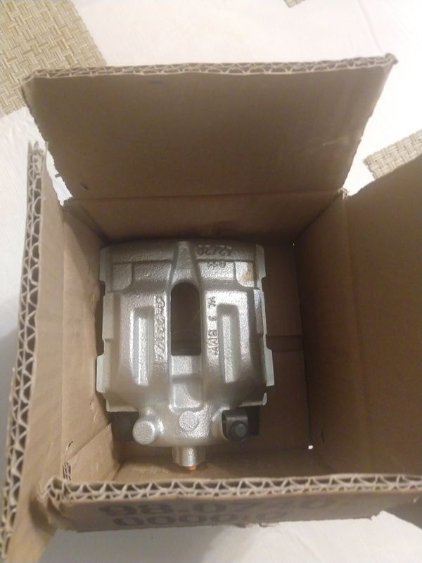 Brand New Bmw Caliper fits 3 series. Opened but never used. $220 online