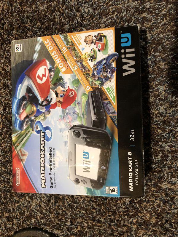 Mario Kart Wii U console