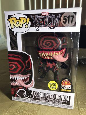 Funko Pop GITD glow in the dark Corrupted Venom LACC 2019 for Sale in Glendale, CA