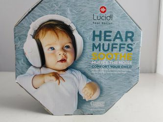 Lucid Audio HearMuffs Soothe Baby Hearing Protection Over Ear Electronic Muffs for Sale in Miami,  FL