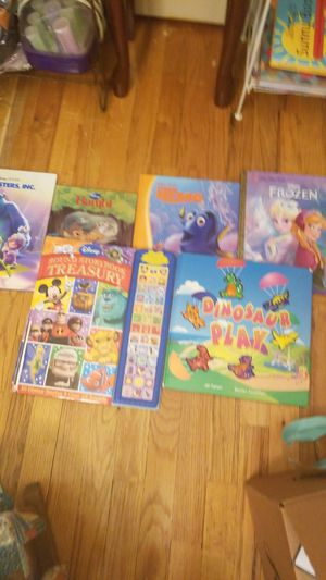 Frozen book, finding Nemo book , a bambi book, monsters inc book, and other for Sale in Haverhill, MA