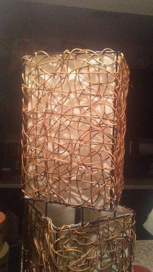Rattan lamp for Sale in Lexington, KY