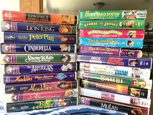 Popular Disney VHS Movies for Sale in Bellevue, WA