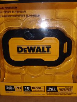 Dewalt Rapid Charge Power Bank Heavy Duty for Sale in Houston,  TX