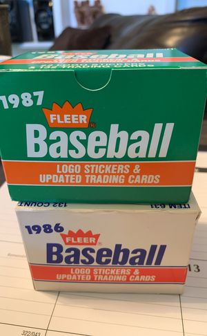 Brand new baseball cards 132 per box 264 total for Sale in Austin, TX