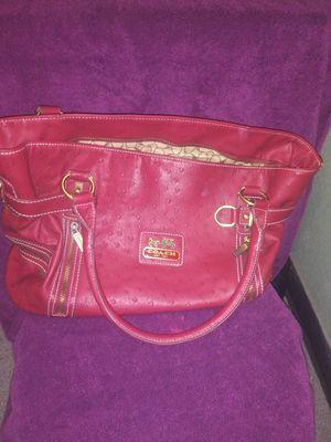 Red coach purse for Sale in Wichita, KS