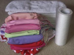 Cloth diaper lot, 8 covers, 15 liners, Grovia bioliners, Alva Baby, Imagine for Sale in Atlantic Beach, NY