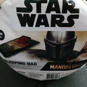 Star Wars The Mandalorian Sleeping Bag 28in x 56in for Sale in Doral, FL