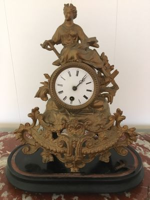 Antique French mantel clock for Sale in Hamilton Township, NJ