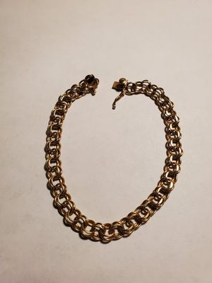 """Solid 14k gold bracelet 8"""" inches for Sale in Arvada, CO"""