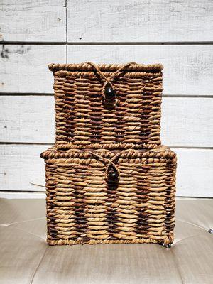 Wicker Baskets set of 2 for Sale in San Diego, CA