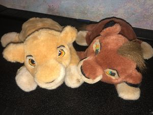 Lion King stuffed animals for Sale in Parma Heights, OH