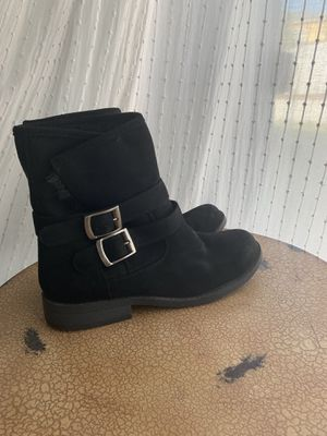 Black Fur Boots! for Sale in Whittier, CA