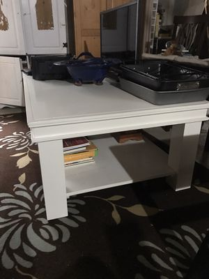 Very large heavy white table for Sale in Plainfield, IL