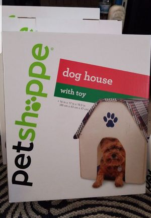 Brand new dog house comes with a toy for Sale in Huntington Beach, CA