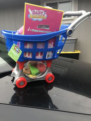 CAR AND BABY DOLL for Sale in Tacoma, WA