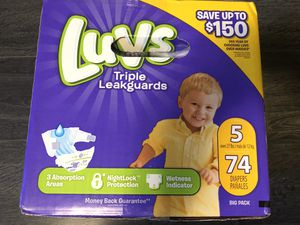 Pampers Luvs for Sale in Montclair, CA